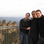 The Three Sisters / Blue Mountains with crazy hikers