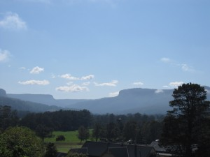 Kangaroo Valley - View from our room