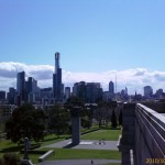 View from Shrine of Rememberance, Melbourne