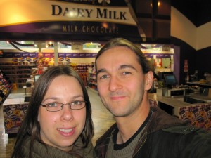Chocolate at Cadbury's