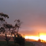 Sunset Eastcoast, Tasmania