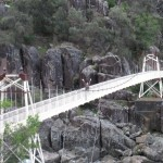 Bridge over troubled Cataract Gorge