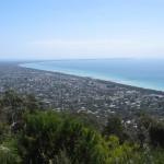 View from Arthur's Seat: Rosebud, Rye, Sorrento, Portsea