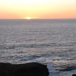 Sunset view from Cape Schanck, Mornington Peninsula