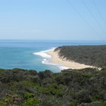 View from Coles Track near Point Nepean, Mornington Peninsula