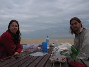 Beach breakfast in Altona