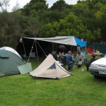 Our new nice and dry campsite
