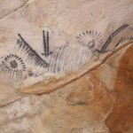 Aboriginal cave paintings