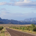 On the way to the Flinders Ranges