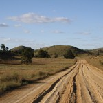 The track to Bunyeroo Gorge, Flinders Ranges