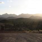 View from Bunyeroo track