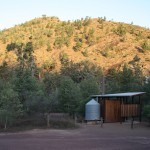 Our bathroom at Bunyeroo Gorge