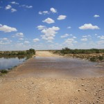 Floodway on the way to William Creek