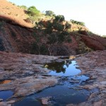 Waterhole in The Olgas