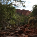 Walk into Kings Canyon Gorge