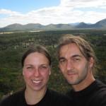 After climbing up to the Wangara Lookout