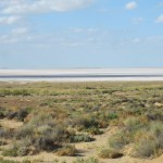 Lake Eyre salt sea