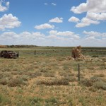 Another car wreck along the Oodnadatta Track