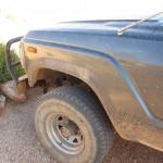 Lost mudguard fender