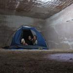 Underground campsite at Riba's