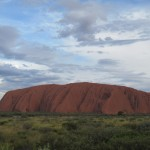 Almost sunset over Uluru