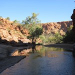 Trephina Gorge creek