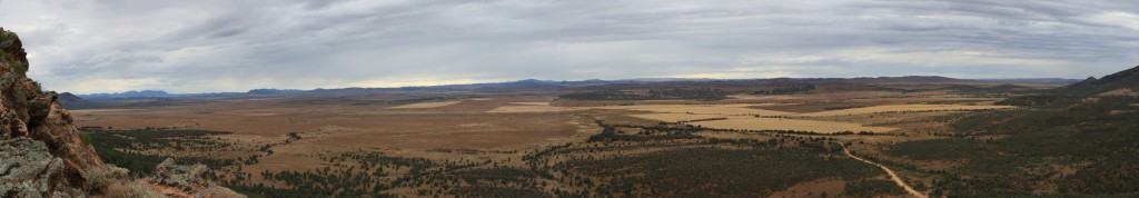 View of the Outback from Jarvis Hill Lookout