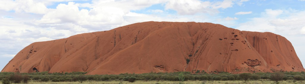 Uluru in all its glory