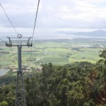 Kuranda Skyrail - somewhat higher