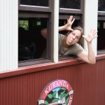 Kuranda Cutie Railway - tickets, please!