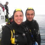 Before our underwater photography dive