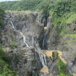 Barron Falls - trickling down