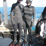 Stinger suits and snorkel gear - no comments, please! :)