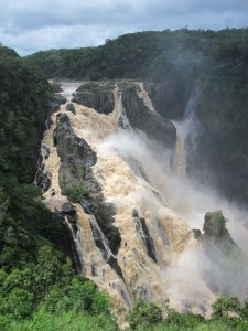 Barron Falls - torrential floods