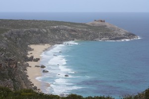 First sight of the Remarkable Rocks