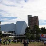 Adelaide`s festival area