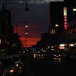 Notorious Hindley Street in Adelaide