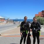 Ready to scuba dive
