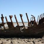 "The ""York"" wreck on Telowie Beach"