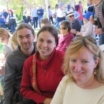 "Sam and us at the Marion ""festival"""