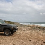 LandCruiser at Point Sir Isaac
