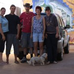 Melissa's family at Kalgoorlie