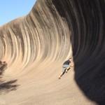 Climbing rock wave