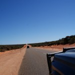 On the way to Shark Bay