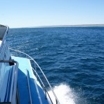 On the way to the outer side of the Ningaloo Reef