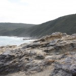 Coast close to the Blowhole at Torndirrup National Park