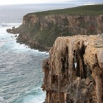 Point d'Entrecastreaux's interesting cliffs