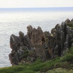 Point d'Entrecastreaux's interesting rocks