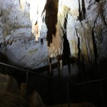 Some stalactites along the way
