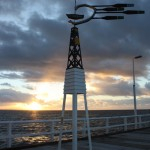 A special wind indicator at the Busselton Jetty